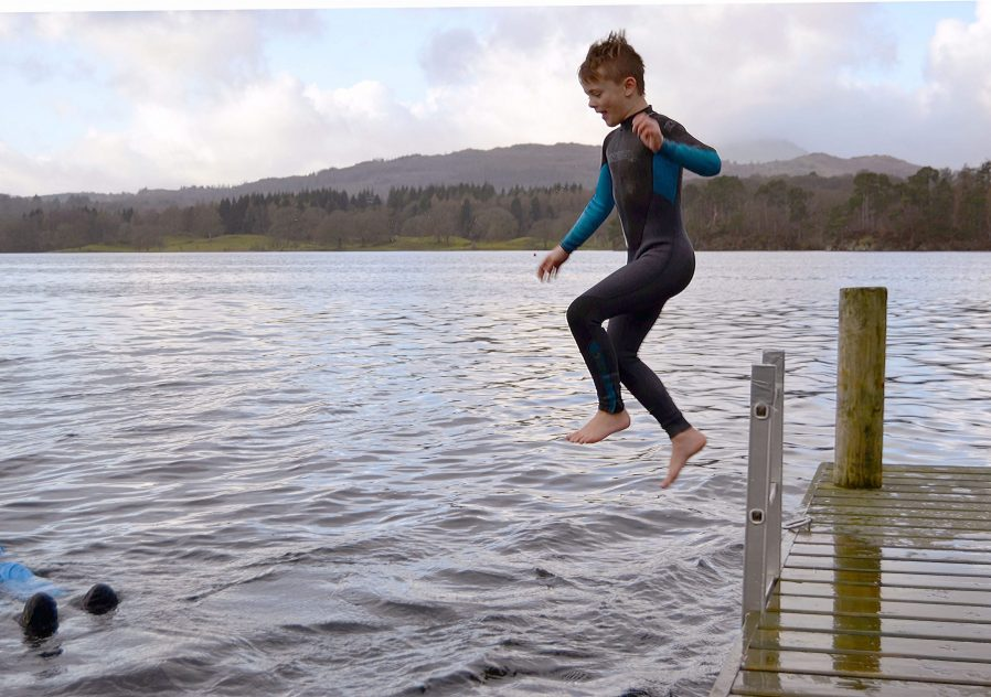 Wild swimming near Ambleside